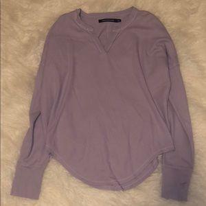 Lavender Calvin Klein Long Sleeve top